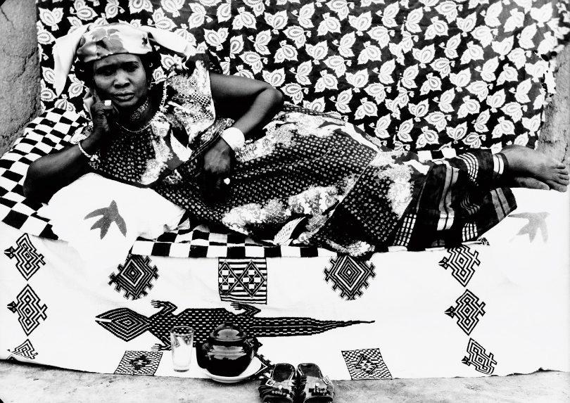 Seydou Keïta, Reclining Woman,