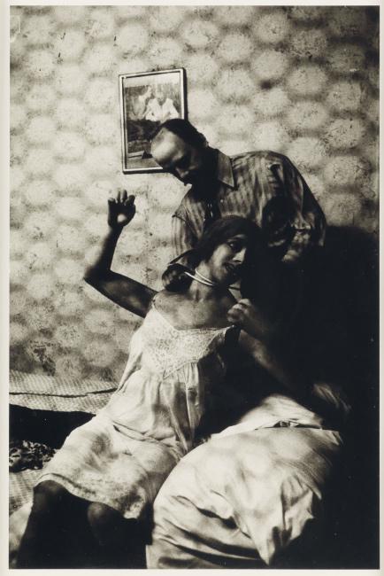 Diane Arbus, Wax Museum Strangler, Coney Island, N.Y.,