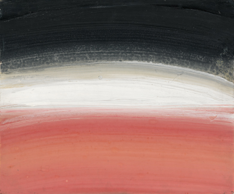 Lot 177: Ed Clark, Untitled, acrylic on canvas, circa 2000. $25,000 to $35,000.