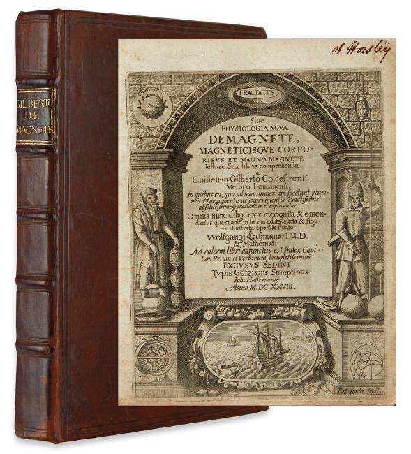 William Gilbert, Tractatus sive physiologia nova de magnete, second edition, Sedini, 1628.