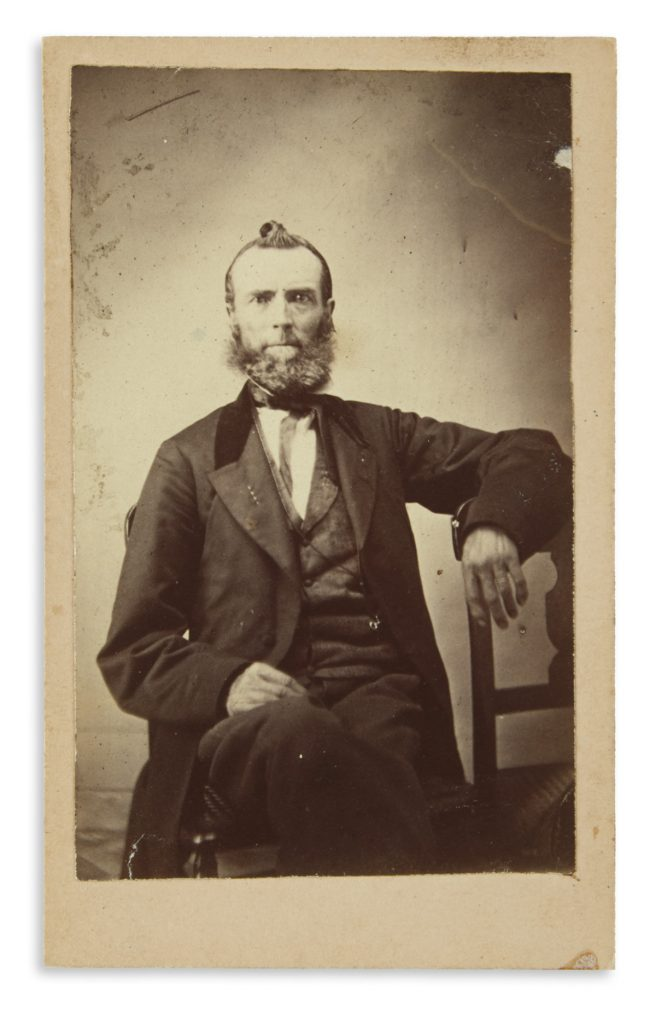 Photograph of Zachariah Taylor Shugart from the collection of Shugart Family Papers, 1838-81.