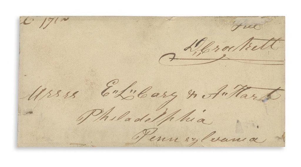 Davy Crockett's signature