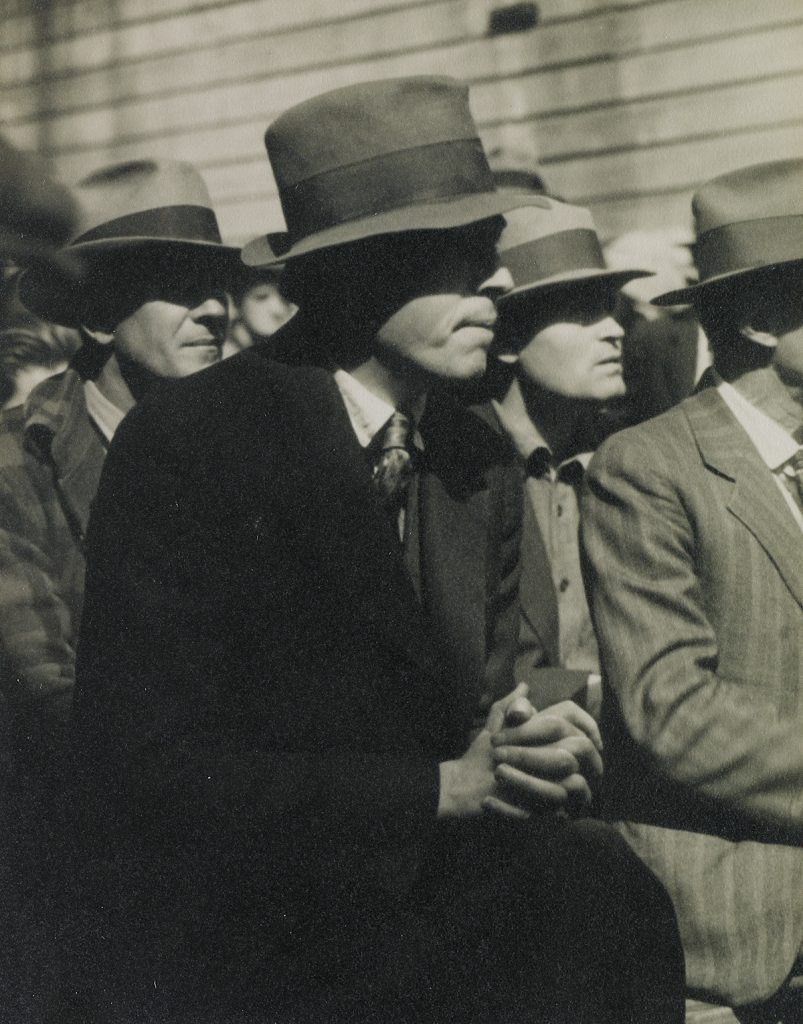 Dorothea Lange, San Francisco Waterfront (Demonstration), silver print