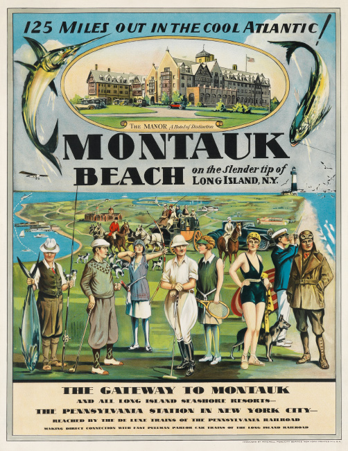 Montauk Beach, designer unknown, circa 1929. $15,000 to $20,000.
