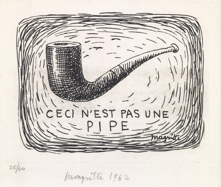 René Magritte, Ceci n'est pas une Pipe, etching, 1962. $8,000 to $12,000.