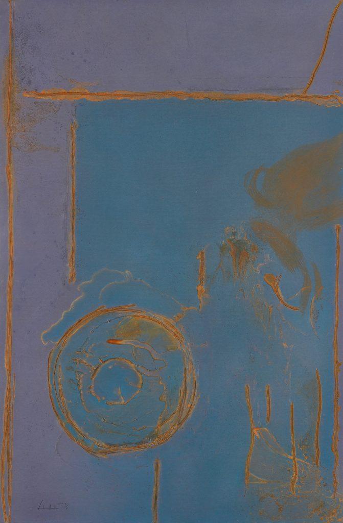 Helen Frankenthaler, Guadalupe, color Mixografía, 1989.