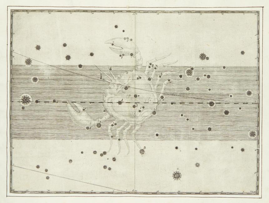 Johann Bayer, Uranometria, Omnium Asterismorum Continens Schemata, Nova Methodo Delineata, Aeris Laminis Expressa, 51 celestial charts, Augsburg or Ulm, circa 1603.