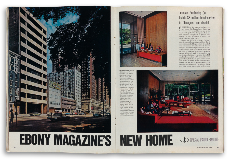 Ebony magazine office, Chicago
