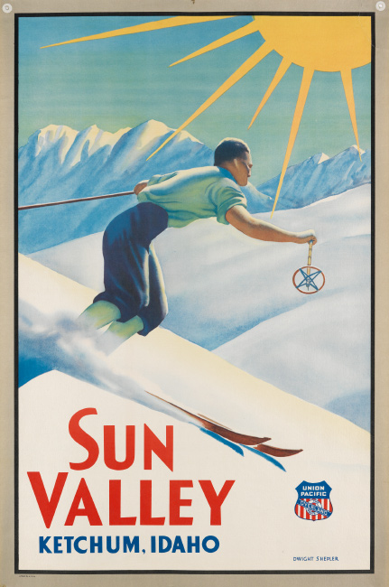 Dwight Clark Shepler, Sun Valley / Union Pacific.