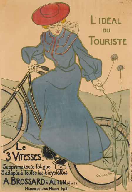 Adrien Barrère, L'Ideal du Touriste, 1903. $3,000 to $4,000.