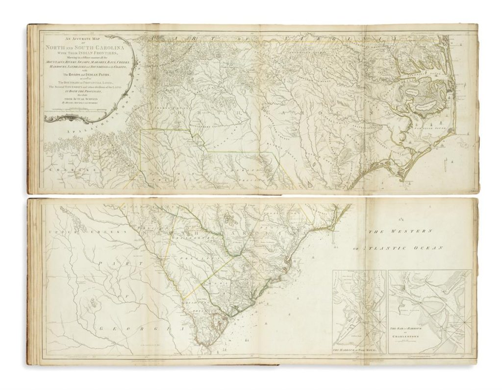Thomas Jefferys, The American Atlas: Or, a Geographical Description of the Whole Continent of America, London, 1776-77.