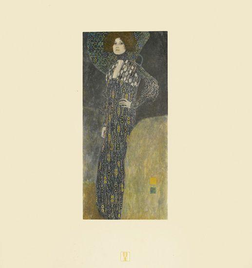 Gustav Klimt, Das Werk von Gustav Klimt, Vienna, 1918.