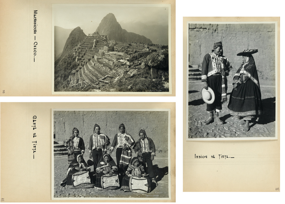 Martin Chambi, presentation album entitled Peru, with 104 photographs, 22 by Chambi, silver prints, 1947.