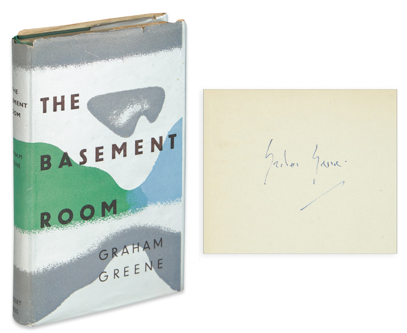 Graham Greene, The Basement Room, first edition, Greene's personal copy, signed, with annotations throughout, London, 1935.
