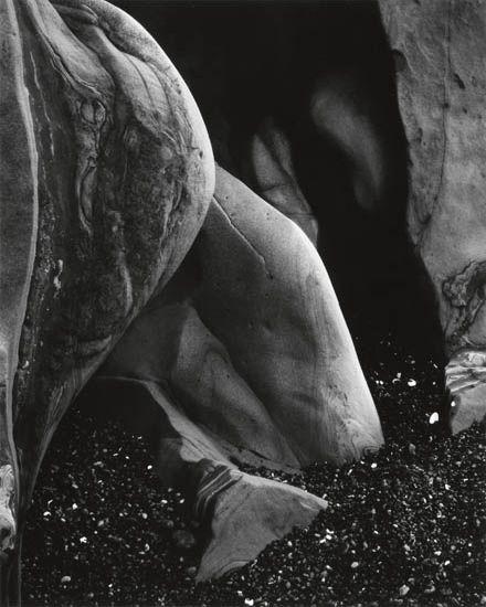 Edward & Brett Weston, Rock Pt. Lobos, silver print, 1930, printed 1955.