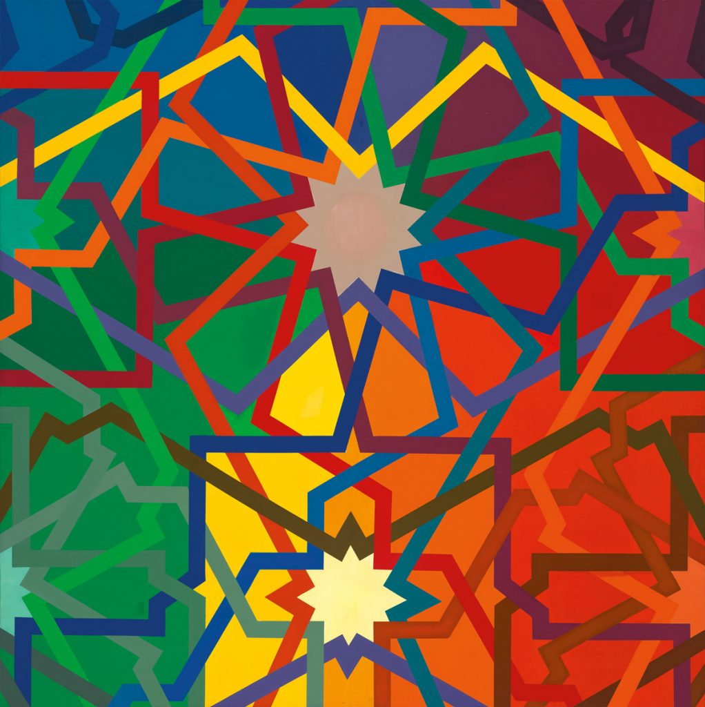 Francis A. Sprout, Azo, acrylic on canvas, 1971.