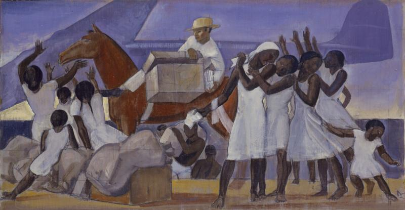 Rockwell Kent, Mail Service in the Tropics, circa 1935–36.