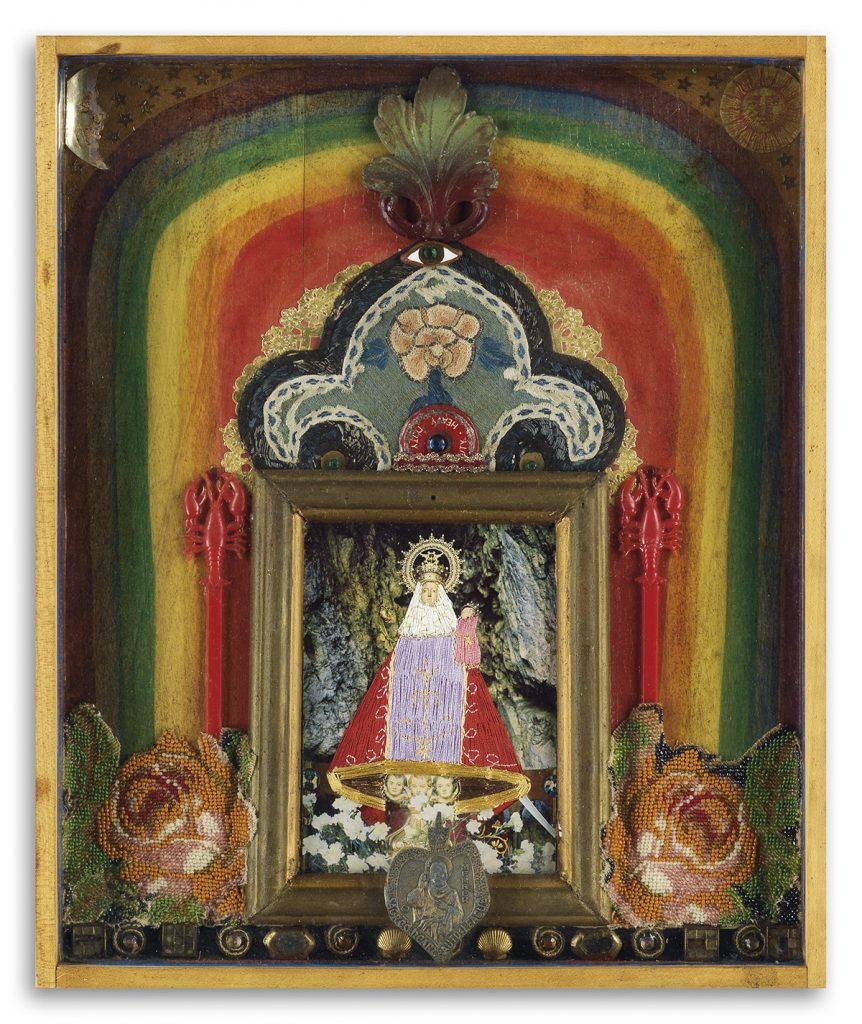 Betye Saar, Adori, mixed media assemblage box, 1973