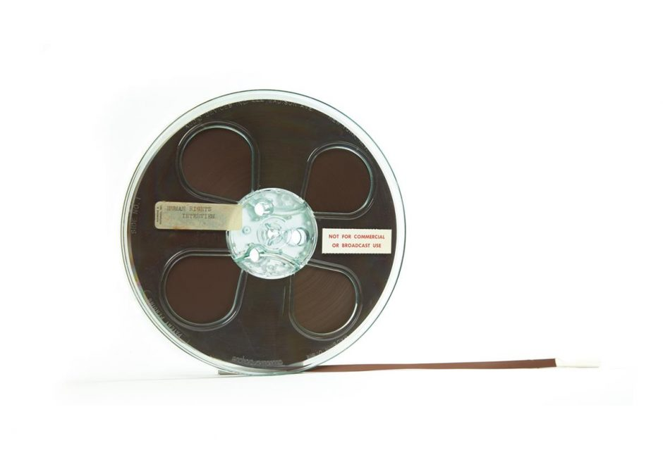 Reel-to-Reel tape of interview