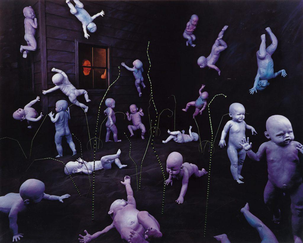 Sandy Skoglund, Maybe Babies, dye transfer print, AP 10/10, 1983.