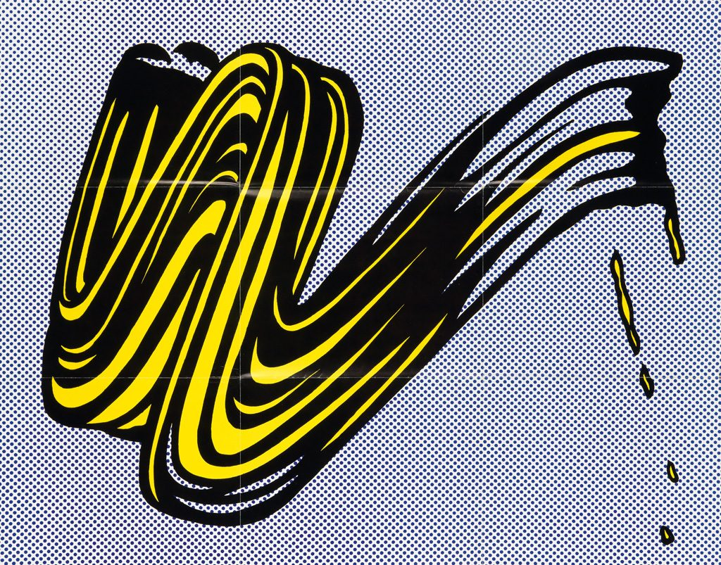 Roy Lichtenstein, Leo Castelli gallery mailer, from a group lot of six various mailers, 1960s